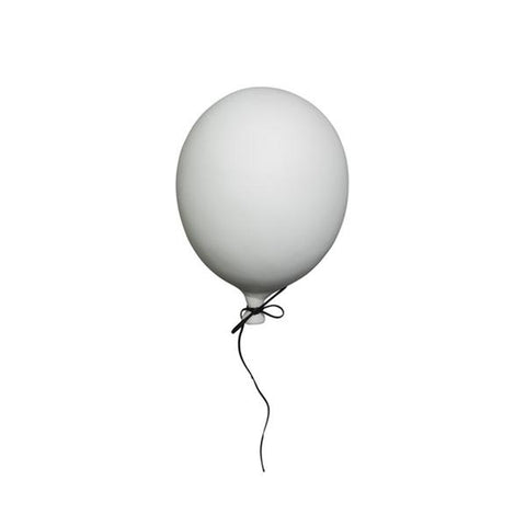 Ceramic Balloon Decoration – White