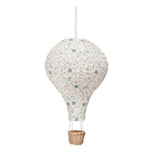 Hot Air Balloon Lamp - Pressed Leaves Rose
