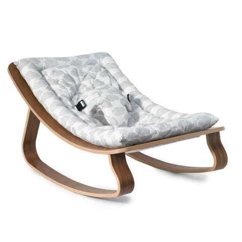 LEVO Baby Rocker in Walnut - Moumout Cloud
