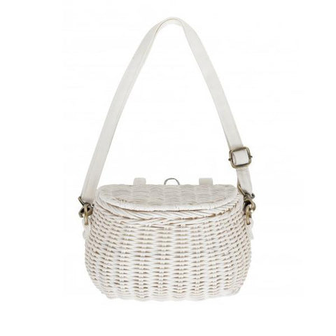 Mini Chari Bag - White