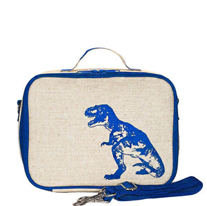 Lunch Box - Blue Dinosaur