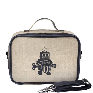 Lunch Box - Grey Robot