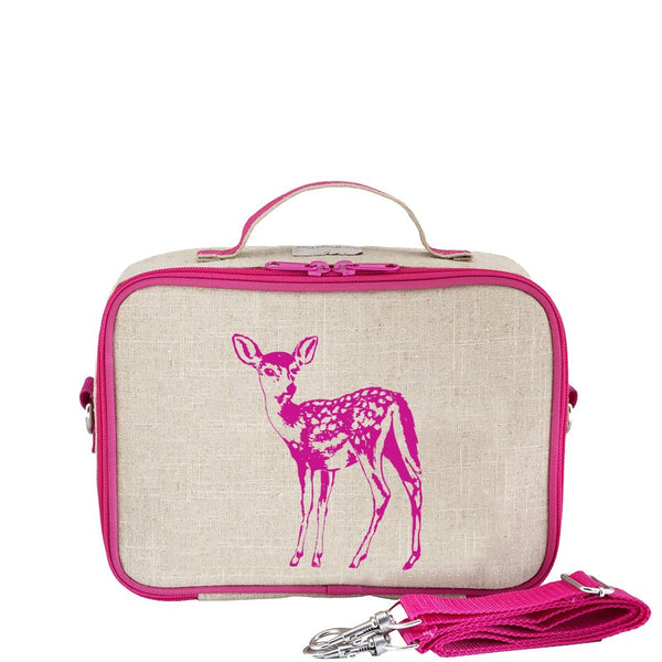 Lunch Box - Pink Fawn