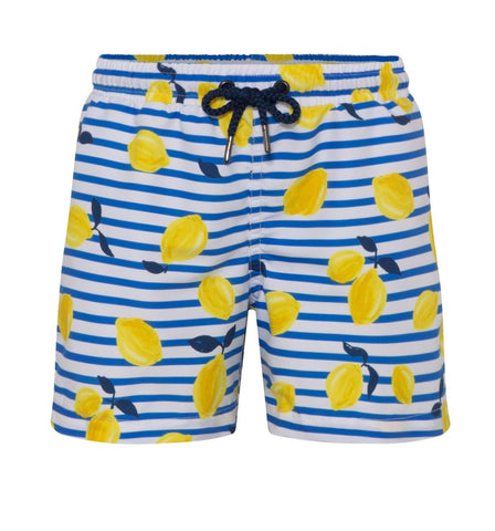 Boys Sicilian Lemon Swim Shorts