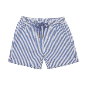 Baby Boys Stripe Cotton Shorts