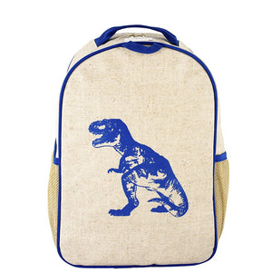 Toddler Backpack - Blue Dinosaur