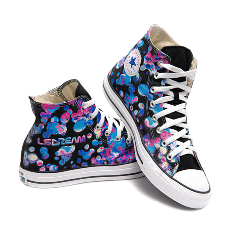 LSDREAM Custom Limited Edition Converse All-Star High Tops