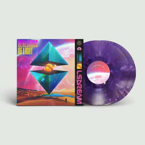 *WAITING LIST* LSDREAM - RENEGADES OF LIGHT Vinyl 2XLP