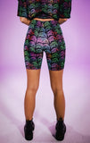 Prizm Ladies Biker Shorts