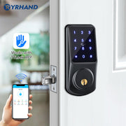 YRHAND Uranus Smart Lock Keyless Entry Deadbolt Door Locks,