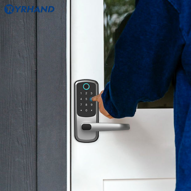 YRHAND Jupiter Touchscreen  Fingerprint Smart Door Lock