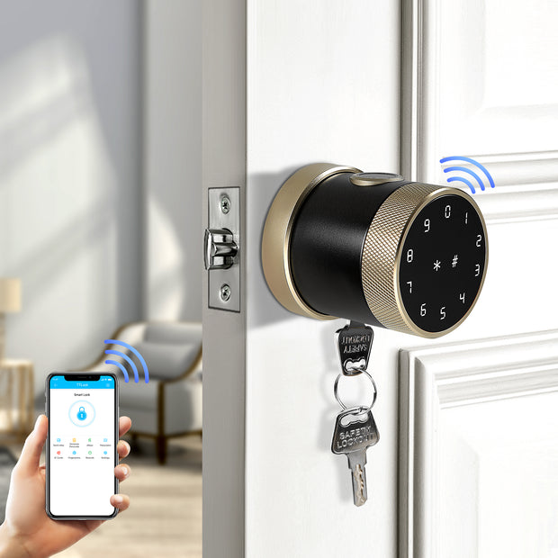 YRHAND THX1 Plus Keyless Fingerprint and Touchscreen Digital Door Lock