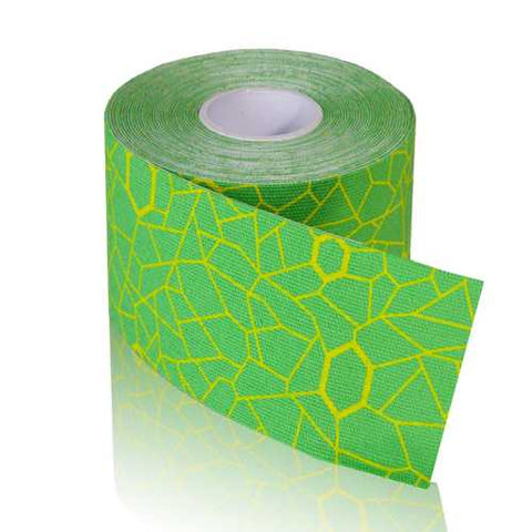 TheraBand Kinesiology Tape STD Roll 2 x16.4' Green/Yellow