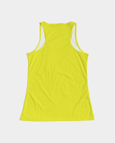 Yellow Aesthetic Women's Tank