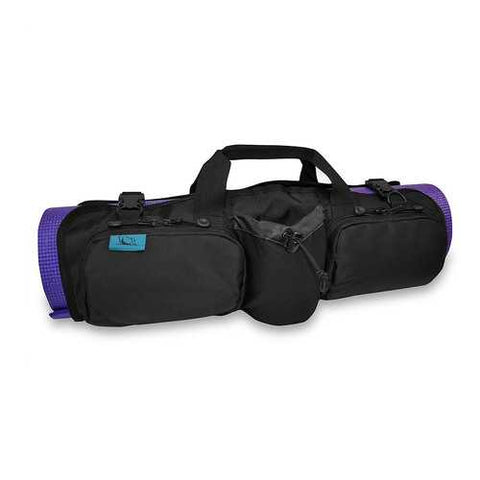 Skooba Design Hotdog Yoga Mat Carrying Gym Bag Case Rollpack Onyx