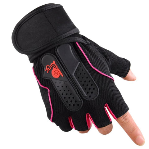Sports Gym Gloves Half Finger Breathable Weightlifting