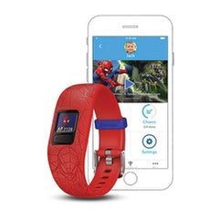 Garmin 010-01909-36 Marvel Spider-Man vivofit jr. 2 (Red)