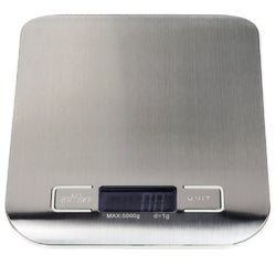 Digital Kitchen Scale, (lbs., g, ml, oz.)