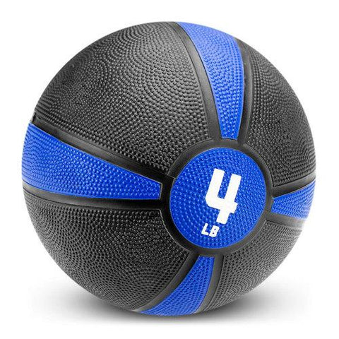4lb Tuff Grip Rubber Medicine Ball