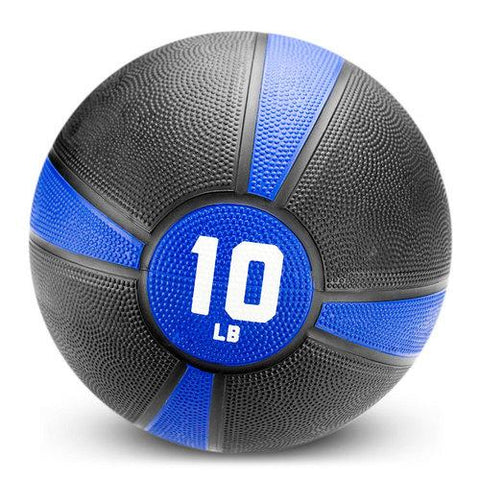 10lb Tuff Grip Rubber Medicine Ball