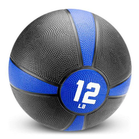 12lb Tuff Grip Rubber Medicine Ball