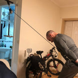 DIY Fitness Pulley Cable System