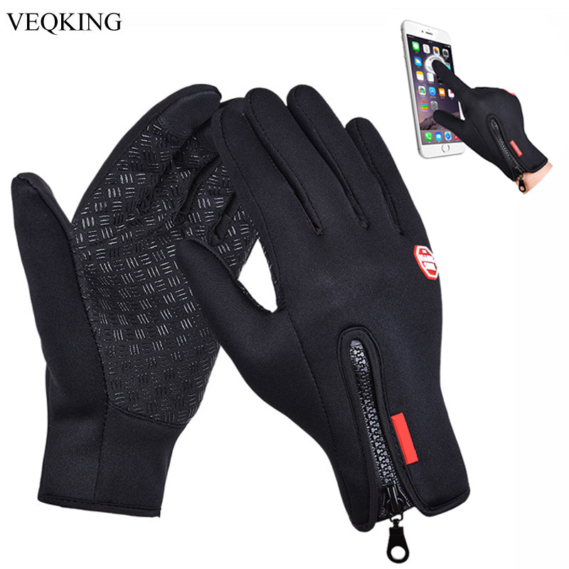 VEQKING Touch Screen Windproof Outdoor Sport Gloves