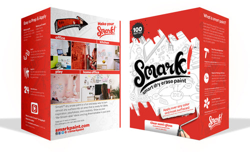 Smark! Dry Erase Paint | 100 Square Feet