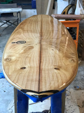 "Load image into Gallery viewer, 5'9"" Surf-Jitsu Handmade Paulownia Bonzer"