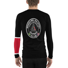 Load image into Gallery viewer, *StreetSports* Ranked Limited Edition Men's Rash Guard *Black Belt*