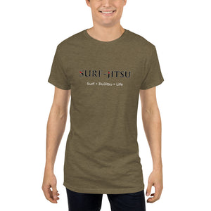 Drop Tail Long Tee Surf-Jitsu