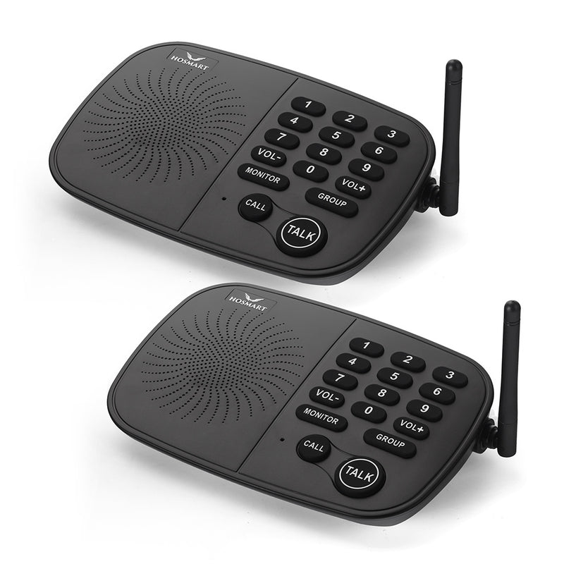 Wireless 10-Channel Intercom System