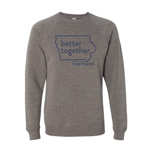 Better Together Crewneck Sweatshirt Navy Print