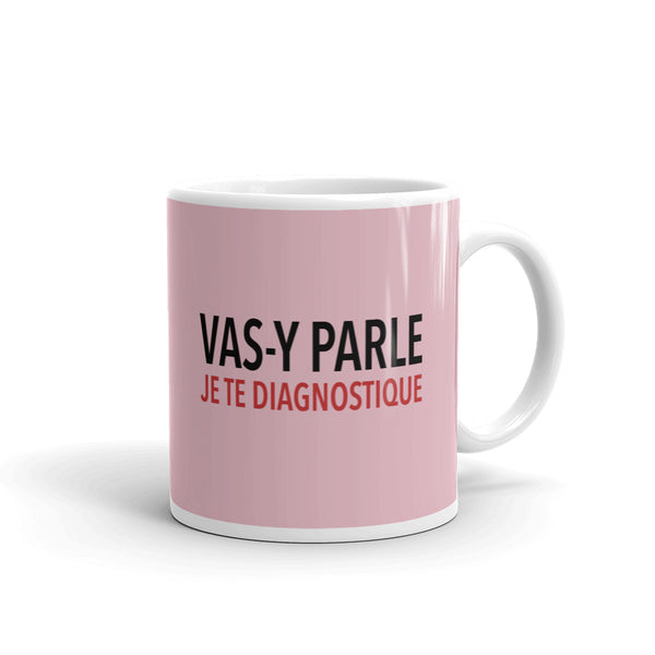 Mug Je te diagnostique - Comptoir des Psychologues
