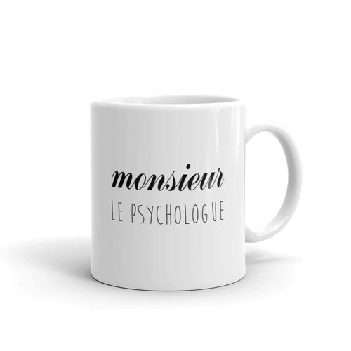 Mug Monsieur Psychologue - Comptoir des Psychologues