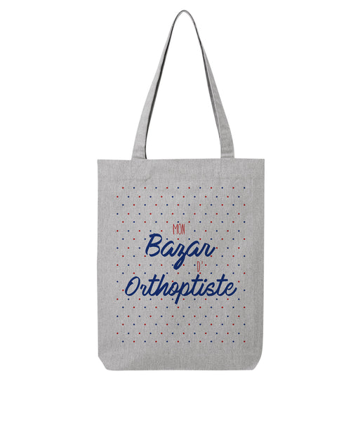 Tote bag Bazar Orthoptiste - Comptoir des Psychologues