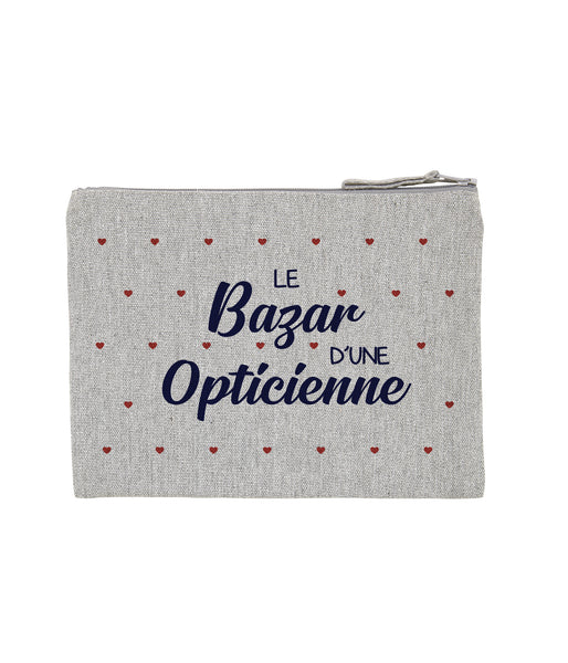 Pochette Bazar coeur Opticienne - Comptoir des Psychologues