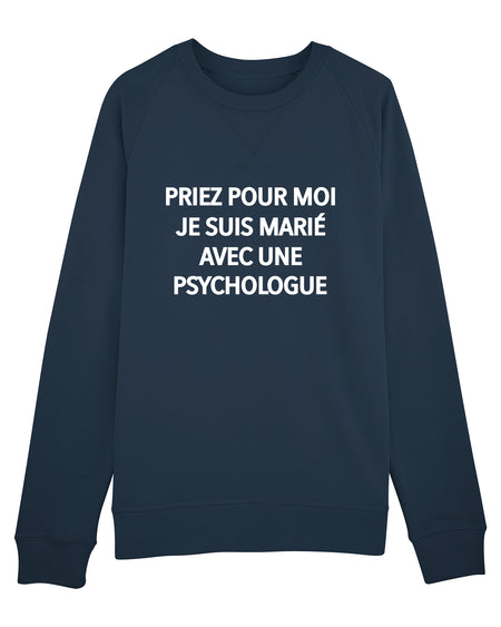 T-shirt Amoureux Psychologue