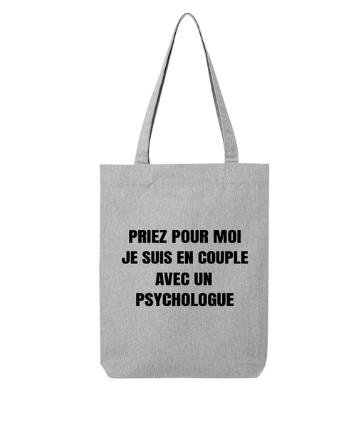 Tote bag En couple F - Comptoir des Psychologues