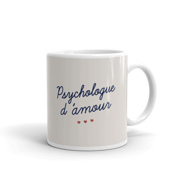 Mug Psychologue d'amour - Comptoir des Psychologues