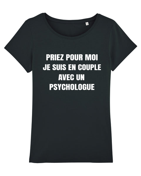 T-shirt En couple F - Comptoir des Psychologues