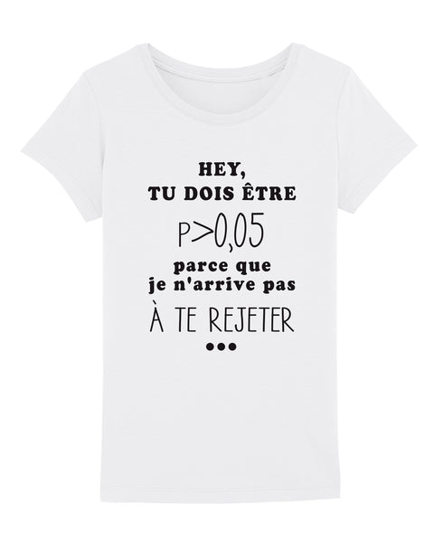 T-shirt Drague de Psy - Comptoir des Psychologues