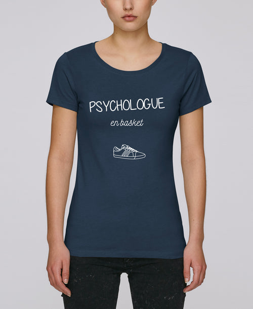 T-shirt Psychologue en basket - Comptoir des Psychologues