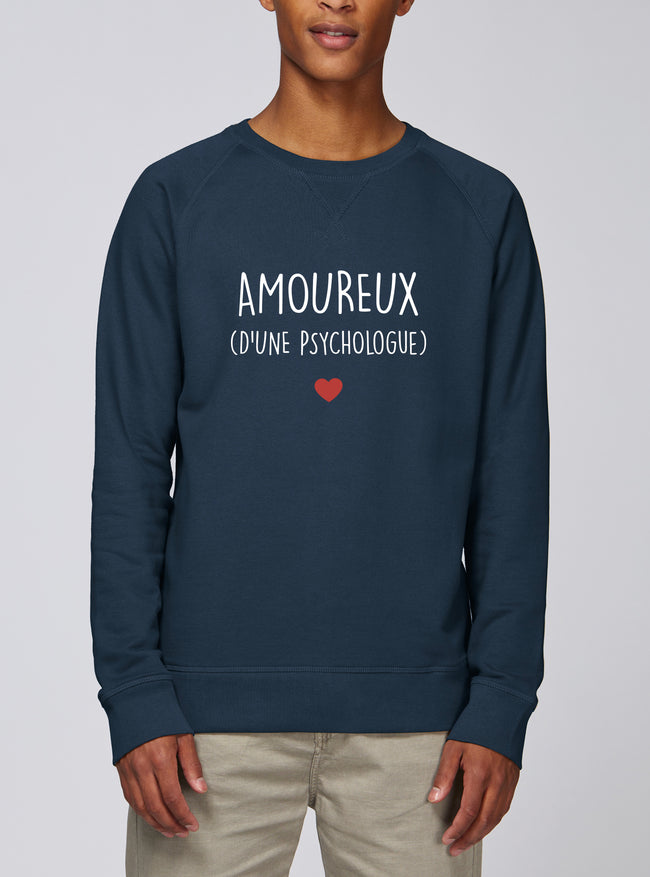 Sweat Amoureux Psychologue - Comptoir des Psychologues