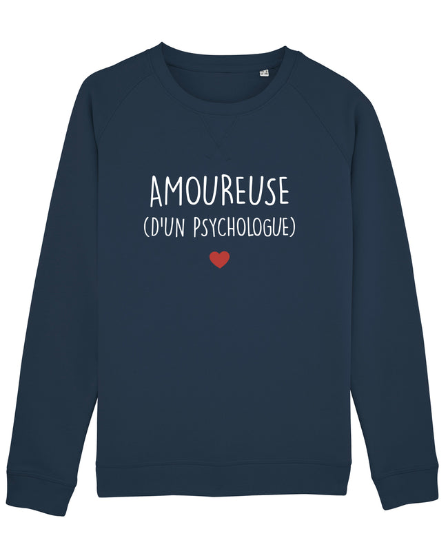Sweat Amoureuse Psychologue - Comptoir des Psychologues
