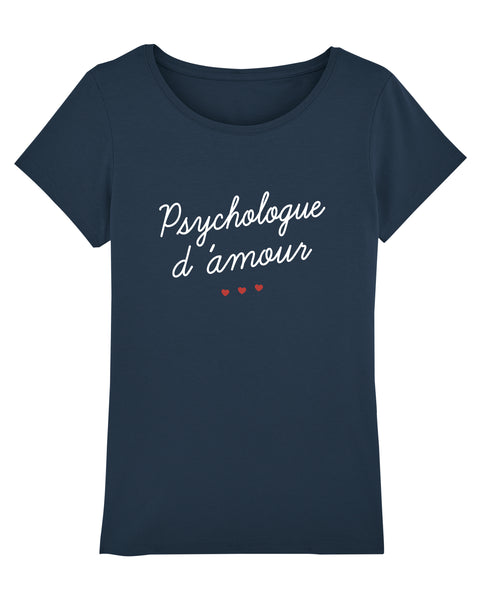 T-shirt Psychologue d'amour - Comptoir des Psychologues