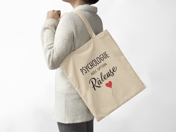 Tote bag Option râleuse - Comptoir des Psychologues