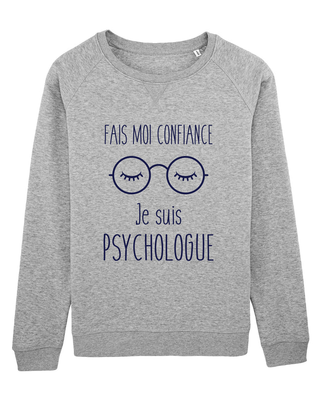 Sweat Je suis Psychologue - Comptoir des Psychologues