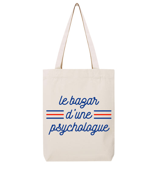 Tote bag 3 bandes Psychologue