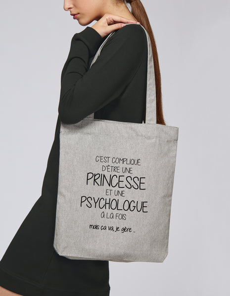 Tote bag Princesse Psychologue - Comptoir des Psychologues